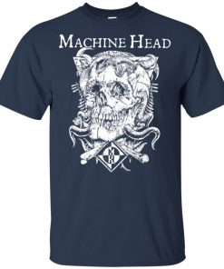 Skull Logo Machine Head Youth T-Shirt