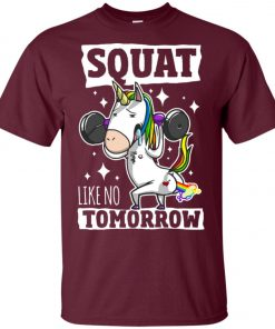 Gym Training Unicorn Unisex T-Shirt