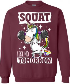 Gym Training Unicorn Sweatshirt