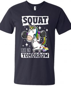 Gym Training Unicorn V-Neck T-Shirt