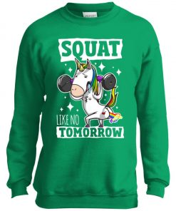 Gym Training Unicorn Youth Sweatshirt