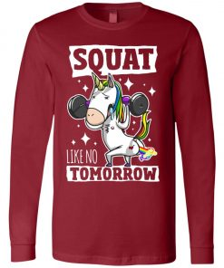 Gym Training Unicorn Long Sleeve