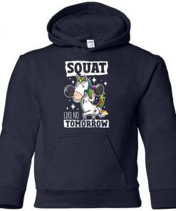 Gym Training Unicorn Youth Hoodie