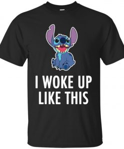 I Woke Up Like This Stitch Unisex T-Shirt