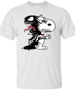 Venom Infected Snoopy Unisex T-Shirt