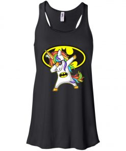 Unicorn Dabbing Batman Women's Tank Top
