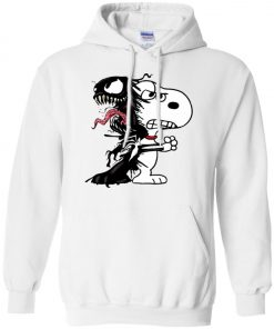 Venom Infected Snoopy Pullover Hoodie