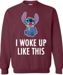 I Woke Up Like This Stitch Sweatshirt