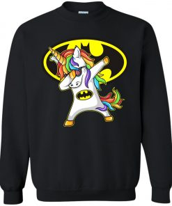 Unicorn Dabbing Batman Sweatshirt