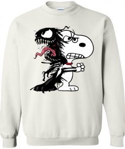 Venom Infected Snoopy Sweatshirt