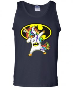 Unicorn Dabbing Batman Tank Top