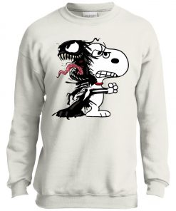 Venom Infected Snoopy Youth Sweatshirt
