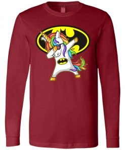 Unicorn Dabbing Batman Long Sleeve