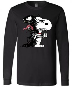 Venom Infected Snoopy Long Sleeve