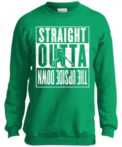 Straight Outta Upside Down Stranger Things Youth Sweatshirt