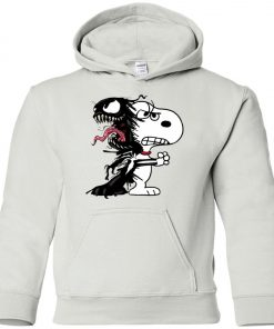 Venom Infected Snoopy Youth Hoodie