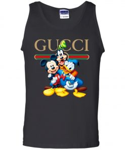 Gucci Gang Disney Mickey Pluto And Donald Tank Top