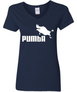 Puma Pumba Women's V-Neck T-Shirt