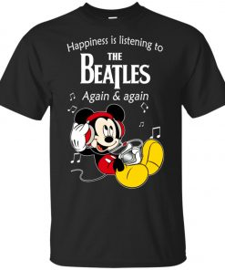 Mickey Listens To The Beatles Unisex T-Shirt