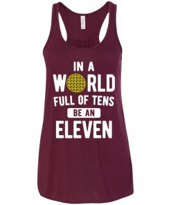 Be An Eleven Stranger Things Women's Tank Top
