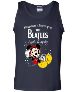 Mickey Listens To The Beatles Tank Top