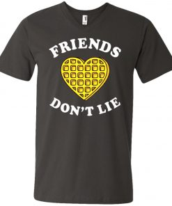 Friends Dont Lie Stranger Things V-Neck T-Shirt