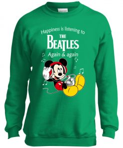 Mickey Listens To The Beatles Youth Sweatshirt