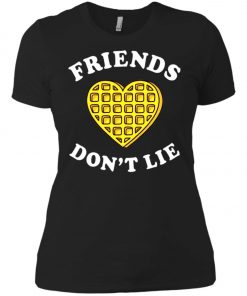 Friends Dont Lie Stranger Things Women's T-Shirt