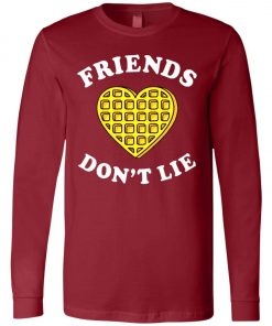 Friends Dont Lie Stranger Things Long Sleeve