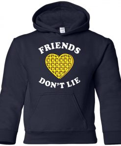 Friends Dont Lie Stranger Things Youth Hoodie
