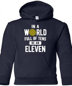 Be An Eleven Stranger Things Youth Hoodie