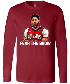 Fear The Brow Anthony Davis Long Sleeve