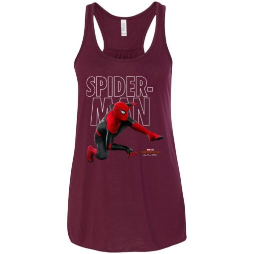 Far From Home Spiderman Women's Tank Top