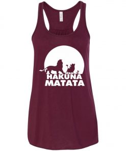 Hakuna Matata Lion King Women's Tank Top