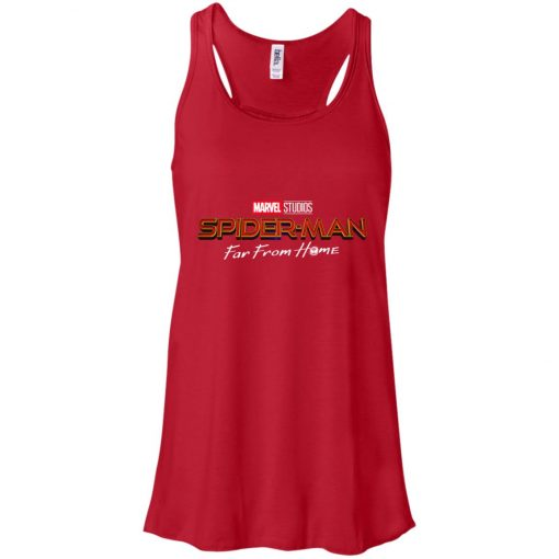Marvel Far From Home Spiderman Women's Tank Top