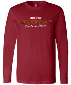 Marvel Far From Home Spiderman Long Sleeve