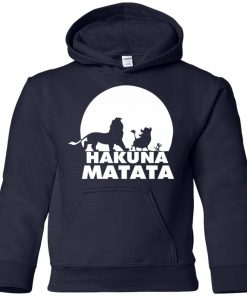Hakuna Matata Lion King Youth Hoodie