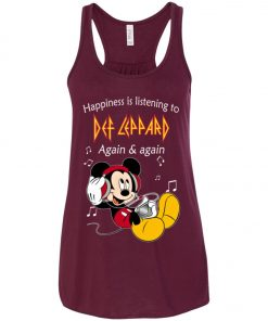 Mickey Listens To Def Leppard Women's Tank Top