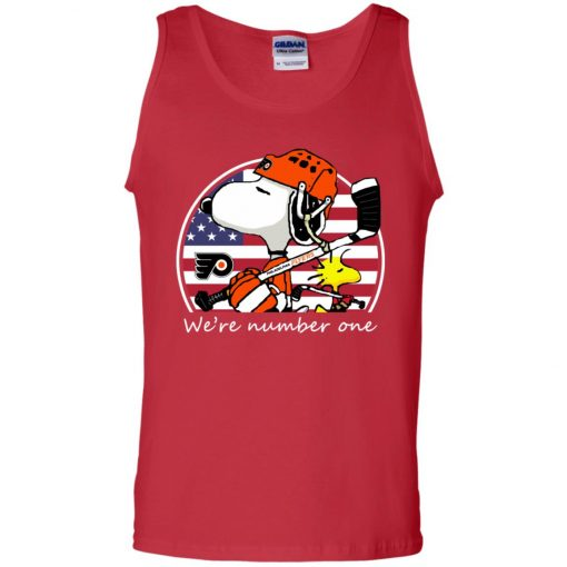 NHL Snoopy Philadelphia Flyers Tank Top