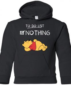 To Do List Winnie Pooh Youth Hoodie