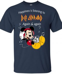 Mickey Listens To Def Leppard Youth T-Shirt