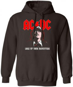 Lock Up Your Daughters AC DC Pullover Hoodie