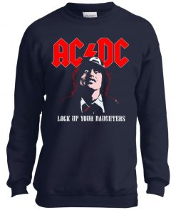 Lock Up Your Daughters AC DC Youth Sweatshirt