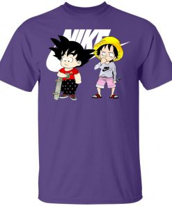 Nike Goku And Luffy Unisex T-Shirt