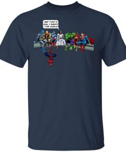 Save The World Avenger Jesus Unisex T-Shirt