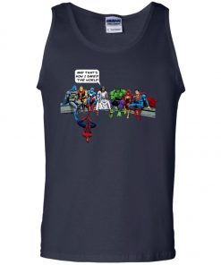 Save The World Avenger Jesus Tank Top