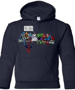 Save The World Avenger Jesus Youth Hoodie