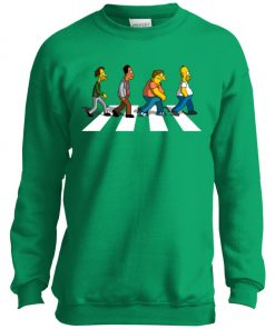 The Beatles Abbey Road The Simpsons Youth Sweatshirt