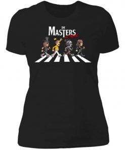 The Master Of Rock Abbey Road The Beatles Women's T-Shirt