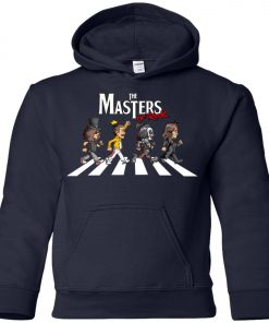 The Master Of Rock Abbey Road The Beatles Youth Hoodie